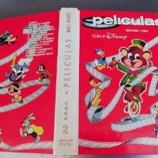 Libros: PELICULAS WALT DISNEY,SEGUNDO TOMO,NUEVO,TAPA DURA,COLECCION JOVIAL,316 PAGINAS,AÑO 1980. Lote 215665593