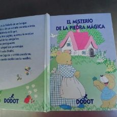 Libros: EL MISTERIO DE LA PIEDRA MAGICA,TAPA DURA,DODOT. Lote 215750237
