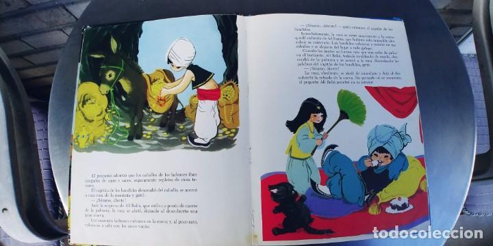Libros: ALI BABA Y LOS CUARENTA LADRONES-e.d. TORAY-año 1964-medidas 26 X 21 Cm-Tapa dura - Foto 3 - 215750848