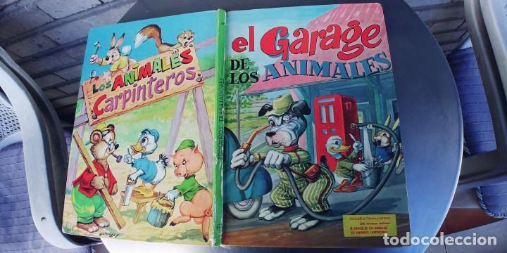 EL GARAJE DE LOS ANIMALES Y LOS ANIMALES CARPINTEROS,LIBRO DE TAPA DURA,TAPA DURA,EDITORIAL VASCO (Libros Nuevos - Literatura Infantil y Juvenil - Cuentos juveniles)