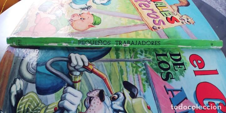 Libros: EL GARAJE DE LOS ANIMALES y los animales carpinteros,libro de tapa dura,tapa dura,editorial vasco - Foto 2 - 215755050