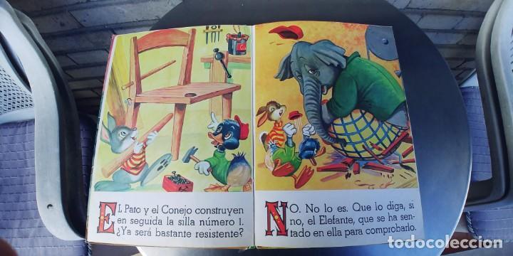 Libros: EL GARAJE DE LOS ANIMALES y los animales carpinteros,libro de tapa dura,tapa dura,editorial vasco - Foto 3 - 215755050
