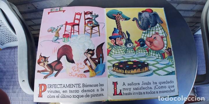 Libros: EL GARAJE DE LOS ANIMALES y los animales carpinteros,libro de tapa dura,tapa dura,editorial vasco - Foto 4 - 215755050