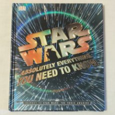Libros: LIBRO STAR WARS. ABSOLUTELY EVERYTHING YOU NEED TO KNOW. Lote 215929280