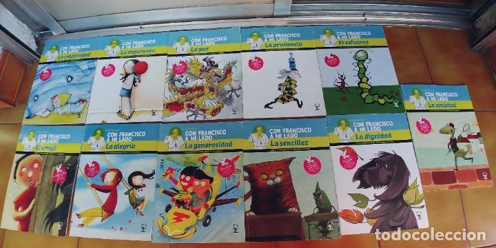 """COLECCIÓN DEL PAPA """"CON FRANCISCO A MI LADO,11 LIBROS DE JUEGOS Y ACTIVIDADES PARA NIÑOS Y GUIA (Libros Nuevos - Literatura Infantil y Juvenil - Cuentos juveniles)"""