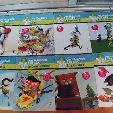 """Libros: COLECCIÓN DEL PAPA """"CON FRANCISCO A MI LADO,11 LIBROS DE JUEGOS Y ACTIVIDADES PARA NIÑOS Y GUIA. Lote 217732383"""