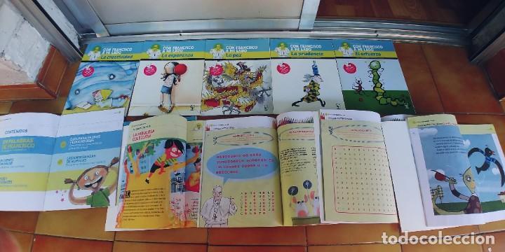 """Libros: Colección del Papa """"Con Francisco a mi lado,11 libros de juegos y actividades para niños y guia - Foto 2 - 217732383"""