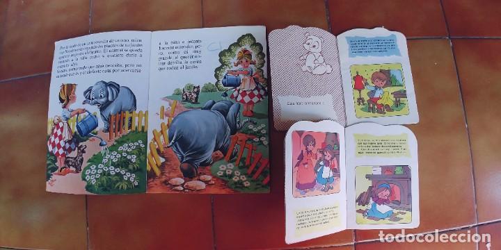Libros: sandra y el elefante travieso y dos cuentos mas troquelados,beascoa,año 1983-1988,perfecto estado - Foto 2 - 217733645