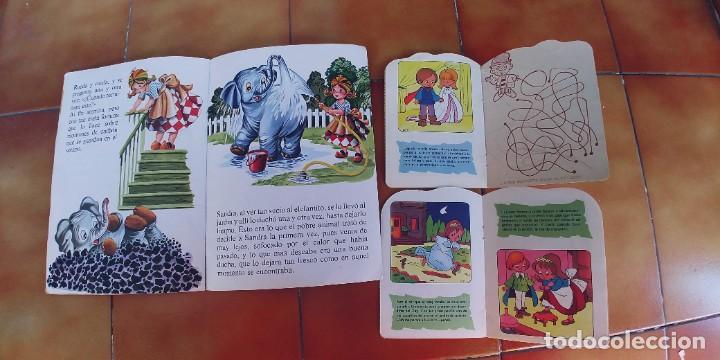 Libros: sandra y el elefante travieso y dos cuentos mas troquelados,beascoa,año 1983-1988,perfecto estado - Foto 3 - 217733645