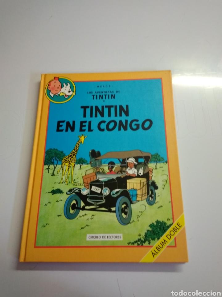 Libros: Libro doble de tintin - Foto 2 - 217780520