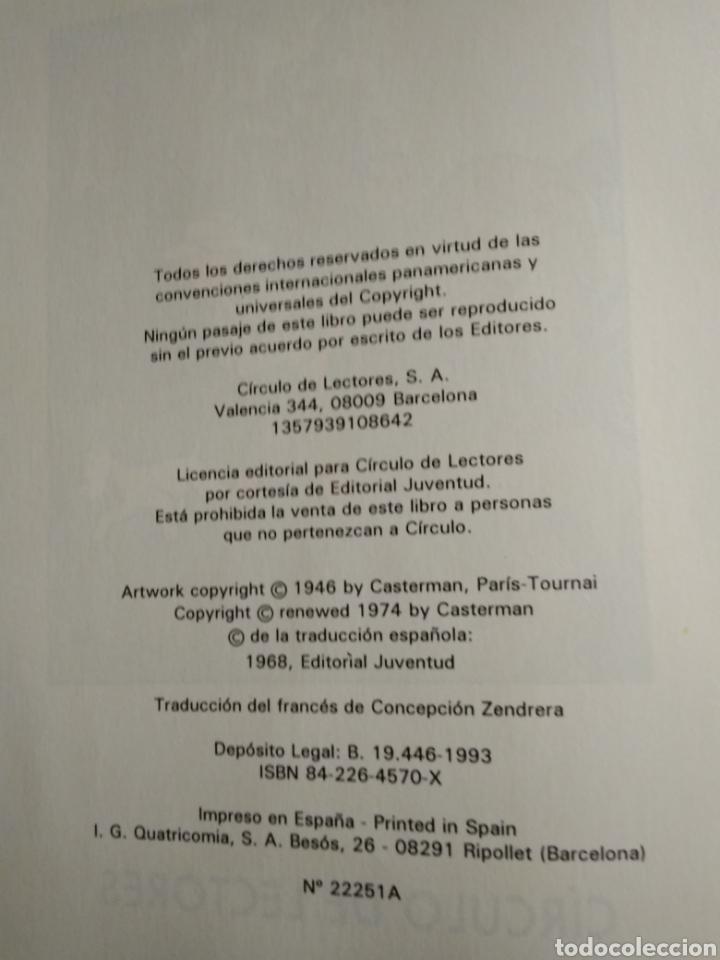 Libros: Libro doble de tintin - Foto 3 - 217780520