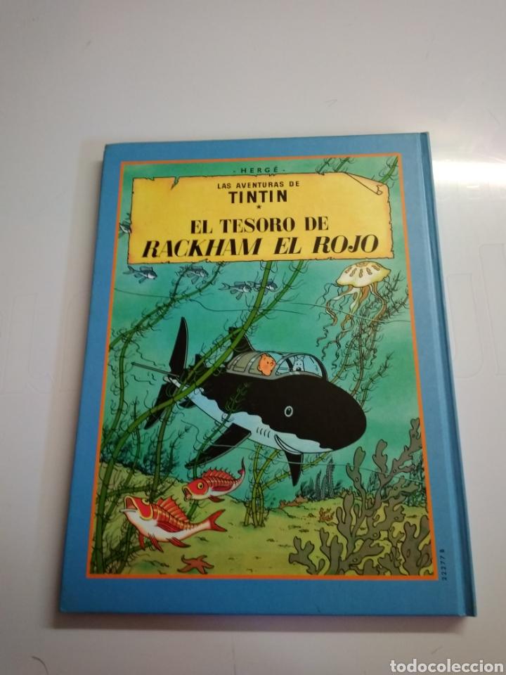 Libros: Libro de tintin - Foto 2 - 217780792
