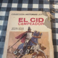 Libros: EL CID CAMPEADOR EDITORIAL BRUGERA. Lote 218298148
