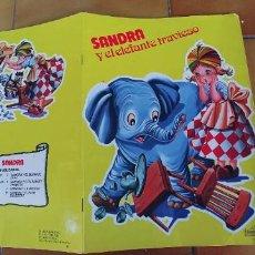 Libros: SANDRA Y EL ELEFANTE TRAVIESO,EDICIONES BEASCOA,1983. Lote 219012611