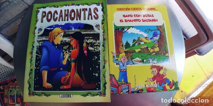 POCAHONTAS,GATO CON BOTAS Y EL ENANO SALTARIN,TAPA FINA (Libros Nuevos - Literatura Infantil y Juvenil - Cuentos juveniles)