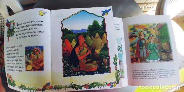 Libros: POCAHONTAS,GATO CON BOTAS Y EL ENANO SALTARIN,TAPA FINA - Foto 2 - 219314852