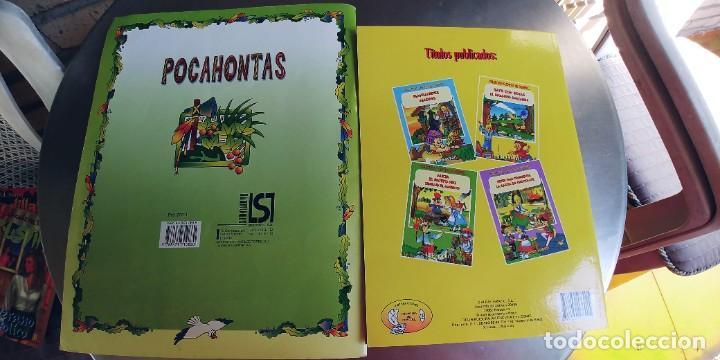 Libros: POCAHONTAS,GATO CON BOTAS Y EL ENANO SALTARIN,TAPA FINA - Foto 3 - 219314852