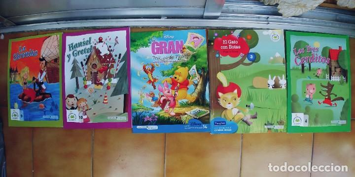 CUENTOS,BIBLIOTECA INFANTIL EL MUNDO,LOTE DE 5 (Libros Nuevos - Literatura Infantil y Juvenil - Cuentos juveniles)