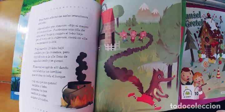 Libros: CUENTOS,BIBLIOTECA INFANTIL EL MUNDO,LOTE DE 5 - Foto 5 - 219316970