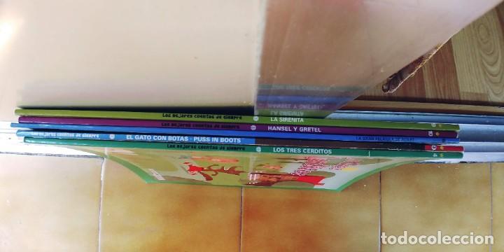 Libros: CUENTOS,BIBLIOTECA INFANTIL EL MUNDO,LOTE DE 5 - Foto 6 - 219316970
