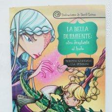 Libros: LA BELLA DURMIENTE OTRO DESPLANTE AL HADA ROBERTO SANTIAGO EVA REDONDO - DAVID GUIRAO - EDEBE. Lote 219914050