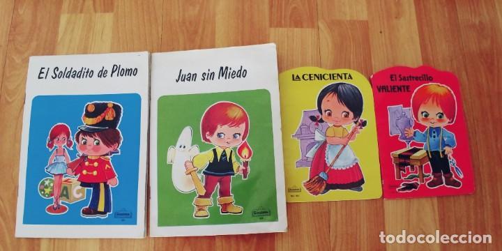 CUENTOS BEASCOA-AÑO 1985 Y 1988-MIDEN 21 X 15 CTM Y 16 X 11,5 CTM-LOTE DE 4 (Libros Nuevos - Literatura Infantil y Juvenil - Cuentos juveniles)