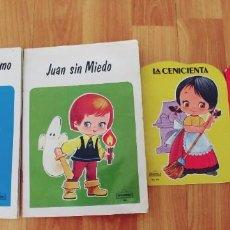 Libros: CUENTOS BEASCOA-AÑO 1985 Y 1988-MIDEN 21 X 15 CTM Y 16 X 11,5 CTM-LOTE DE 4. Lote 220094287