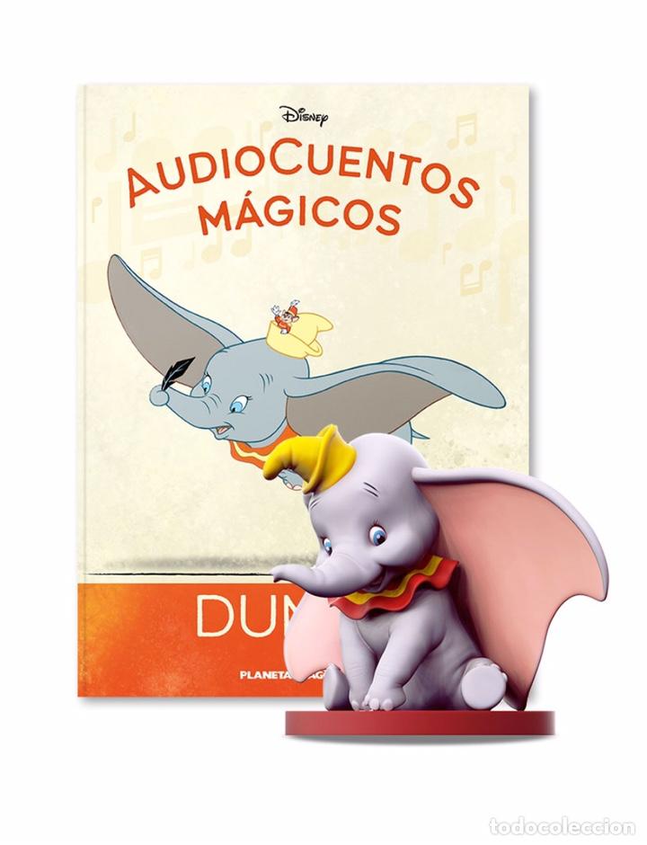 Libros: AUDIOCUENTOS MÁGICOS 5 DUMBO DISNEY - Foto 2 - 221074350