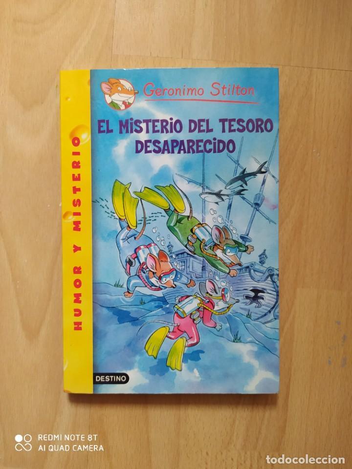 GERÓNIMO STILTON - EL MISTERIO DEL TESORO DESAPARECIDO - TAPA BLANDA (Libros Nuevos - Literatura Infantil y Juvenil - Cuentos juveniles)