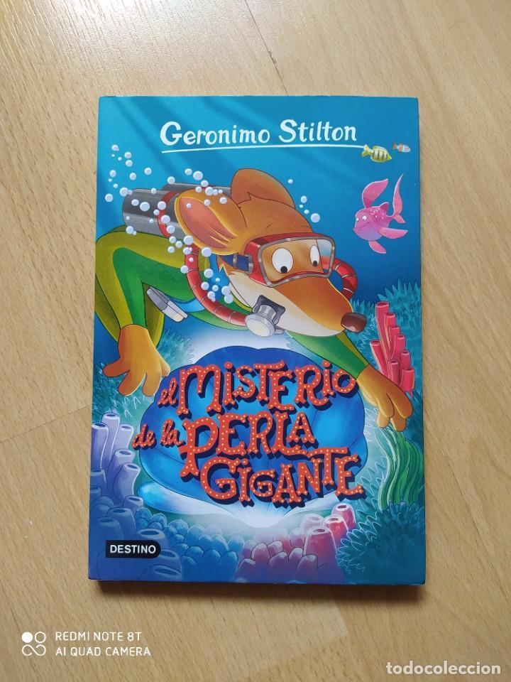 GERÓNIMO STILTON - EL MISTERIO DE LA PERLA GIGANTE- TAPA BLANDA (Libros Nuevos - Literatura Infantil y Juvenil - Cuentos juveniles)