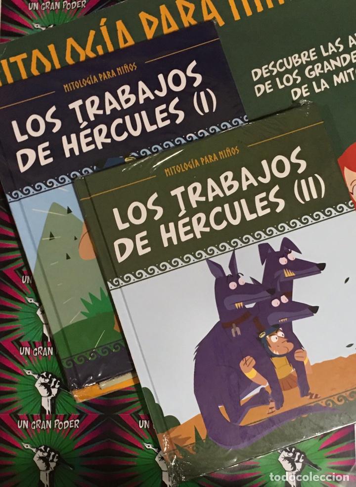 MITOLOGÍA PARA NIÑOS LOS TRABAJOS DE HÉRCULES COMPLETA (Libros Nuevos - Literatura Infantil y Juvenil - Cuentos juveniles)
