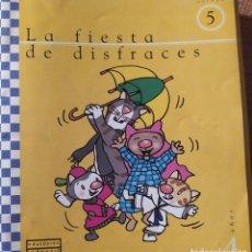 Libros: UNIDAD 5 LA FIESTA DE DISFRACES 4 AÑOS. Lote 223193398