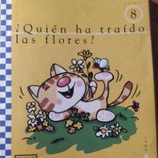 Libros: UNIDAD 8 QUIEN HA TRAIDO LAS FLORES 4 AÑOS. Lote 223193608