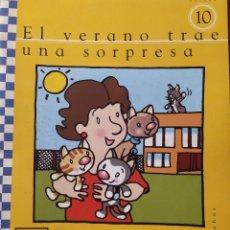 Libros: UNIDAD 10 EL VERANO TRAE UNA SORPRESA 4 AÑOS. Lote 223195981
