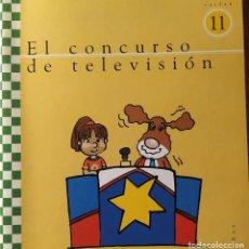 Libros: UNIDAD 11 EL CONCURSO DE TELEVISION 5 AÑOS. Lote 223196125