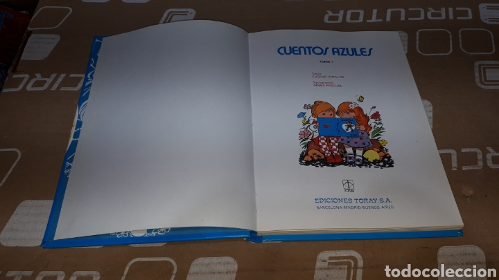 Libros: CUENTOS AZULES ILUSTRADOS POR MARIA PASCUAL EDITORIAL TORAY SEPTIMA EDICION - Foto 4 - 224727786