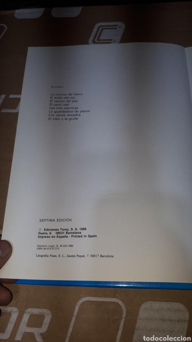 Libros: CUENTOS AZULES ILUSTRADOS POR MARIA PASCUAL EDITORIAL TORAY SEPTIMA EDICION - Foto 5 - 224727786