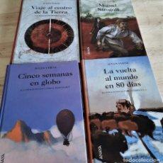 Livres: JULIO VERNE LOTE 4 LIBROS EDITORIAL ANAYA. Lote 227963485