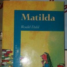 Libros: MATILDA ROALD DAHI. Lote 228071870