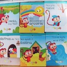 Libros: LIBROS INFANTILES-EDEBE TAPA Y HOJAS DE CARTON-PARA NIÑOS DE 1 A 2 AÑOS. Lote 228334725