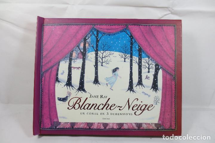 LIBRO DESPLEGABLE BLANCHE-NEIGE (JANE RAY) ESTÁ EN FRANCÉS (Libros Nuevos - Literatura Infantil y Juvenil - Cuentos juveniles)