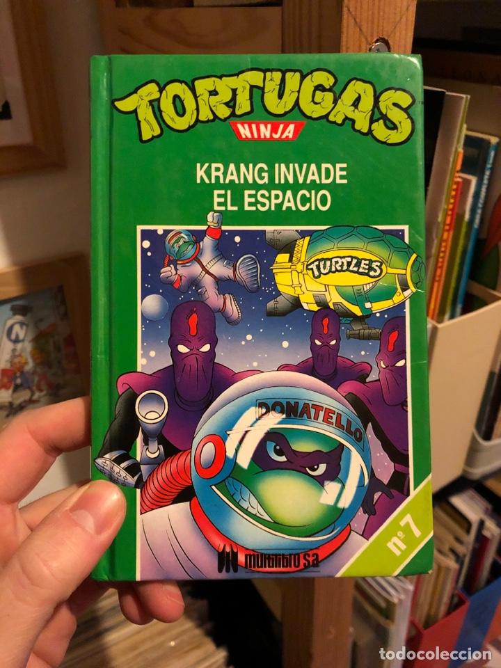 TORTUGAS NINJA TOMO 7 KRANG INVADE EL ESPACIO MULTILIBRO S A (Libros Nuevos - Literatura Infantil y Juvenil - Cuentos juveniles)