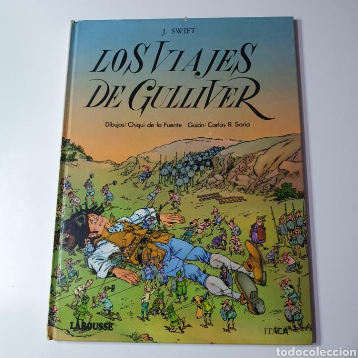 LOS VIAJES DE GULLIVER, EDITORIAL LAROUSSE, MARAVILLAS DE LA LITERATURA N° 11.1985. (Libros Nuevos - Literatura Infantil y Juvenil - Cuentos juveniles)