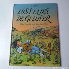 Libros: LOS VIAJES DE GULLIVER, EDITORIAL LAROUSSE, MARAVILLAS DE LA LITERATURA N° 11.1985.. Lote 183278383