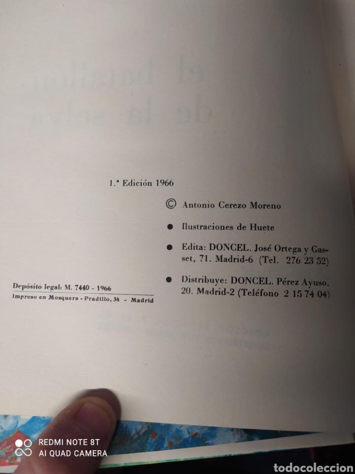 Libros: LIBRO EL BATALLÓN DE LA SELVA - Foto 3 - 236495125