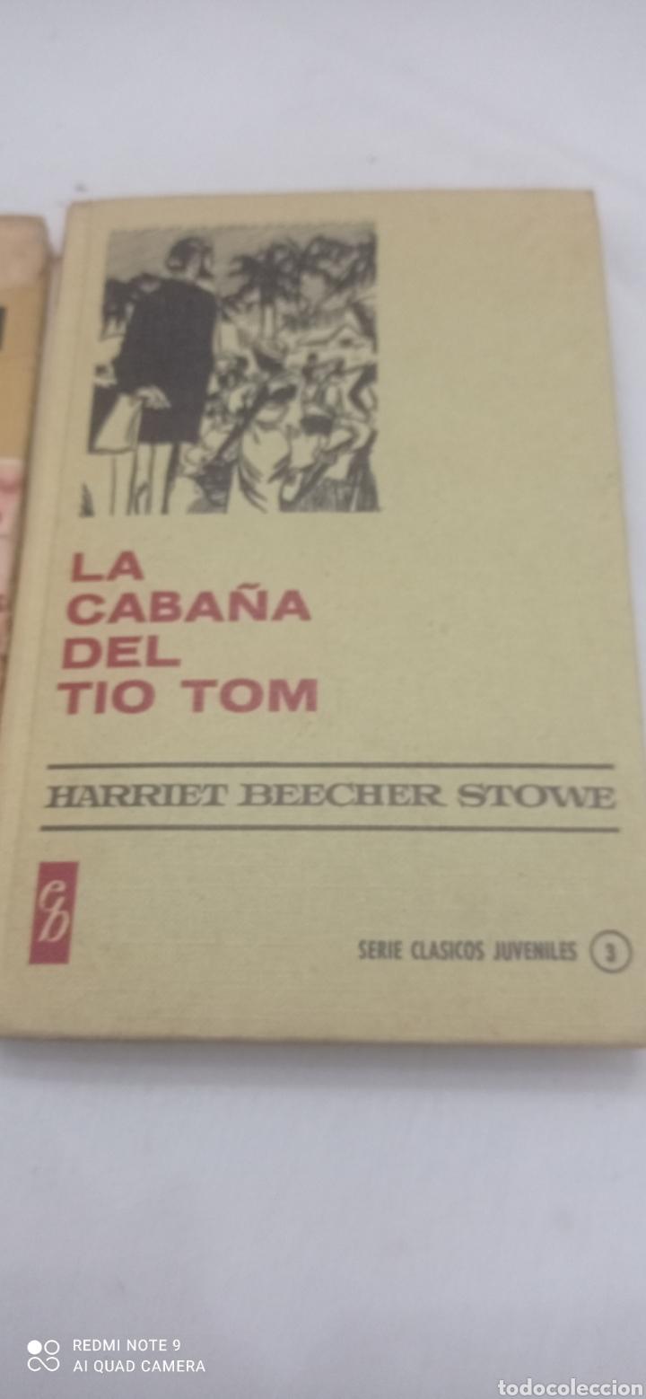 Libros: LA CABAÑA DEL TIO TOM. 1975. CLÁSICOS JUVENILES - Foto 2 - 238655365
