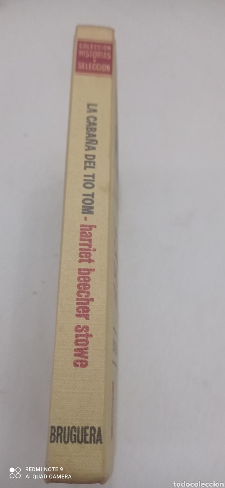 Libros: LA CABAÑA DEL TIO TOM. 1975. CLÁSICOS JUVENILES - Foto 3 - 238655365