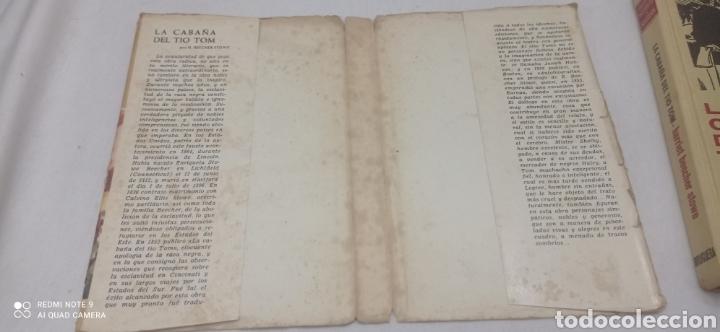 Libros: LA CABAÑA DEL TIO TOM. 1975. CLÁSICOS JUVENILES - Foto 4 - 238655365