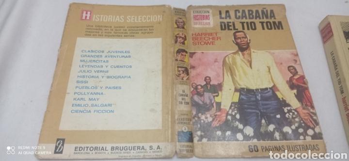Libros: LA CABAÑA DEL TIO TOM. 1975. CLÁSICOS JUVENILES - Foto 5 - 238655365