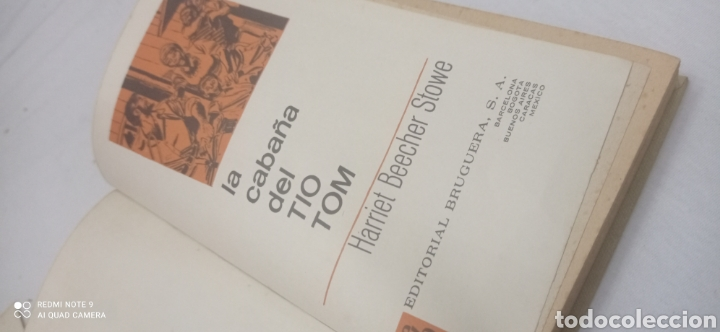 Libros: LA CABAÑA DEL TIO TOM. 1975. CLÁSICOS JUVENILES - Foto 7 - 238655365